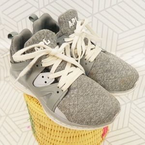 APL Ascend Grey Quilted Jersey rubber sneakers 8